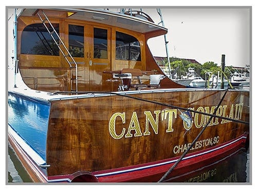 Charleston Boat Detailing - Teak Care