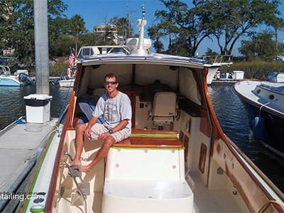 Contact - Andrew Adams - Charleston Boat Detailing