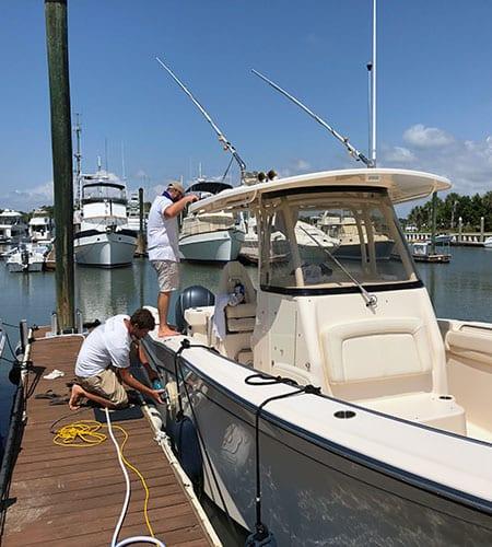 Charleston Boat Detailing - Monthly Maintenance